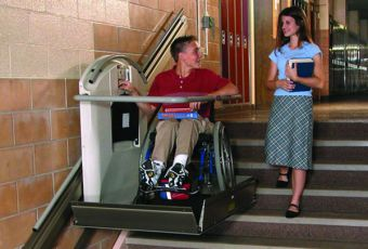 Straight Inclined Platform Wheelchair Lifts