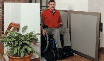 Unenclosed Vertical Platform Wheelchair Lifts